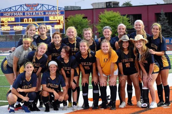 OTHS Illinois State Champions Girls Soccer Team